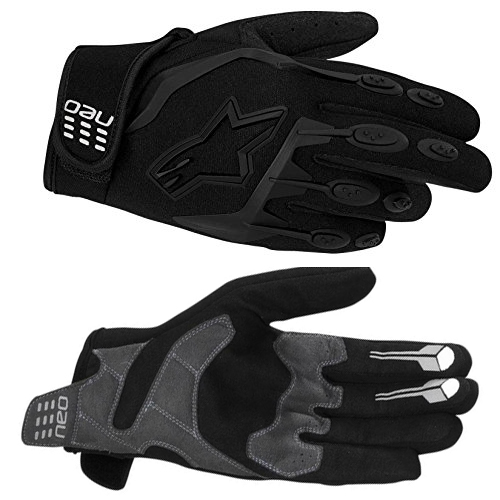 Перчатки для мотоциклиста Alpinestar 356505 Neo Moto Motocross Gloves Black Size L