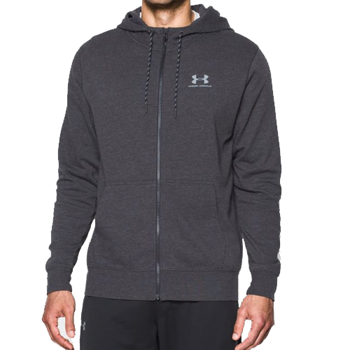 Толстовка мужская Under Armour Sportstyle Fleece Zip Hoodie (1284501-005) Size SM