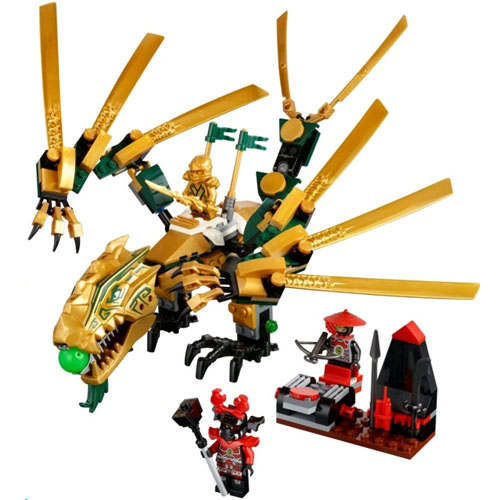 Конструктор Lego 70503 Ninjago The Golden Dragon (Лего Золотой ...