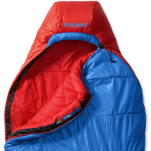 Спальный мешок Eddie Bauer 1801 Igniter -9C Synthetic Insulation Sleeping Bag Blue Long