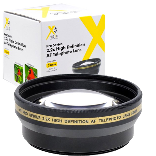 Насадка на объектив Xit Photo Pro Series 2.2x HD AF Telephoto Lens (XT2X52)