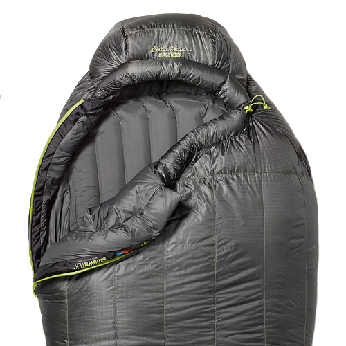Спальный мешок Eddie Bauer 2328 Airbender -7C Sleeping Bag Dk Smoke Long