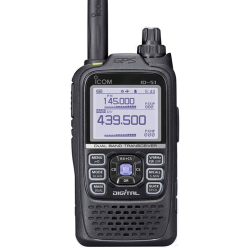 Радиостанция Icom ID-51A Plus