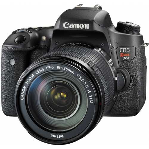 Зеркальный фотоаппарат Canon EOS 760D Kit 18-135 IS STM [Rebel T6s Kit]