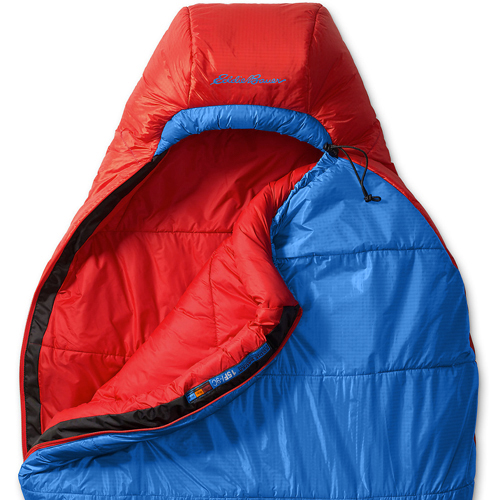 Спальный мешок Eddie Bauer 2217 Karakoram -18C Down Mummy Sleeping Bag Blue Reg