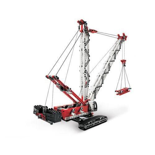 LEGO 8288 Crawler Crane Set Parts Inventory and