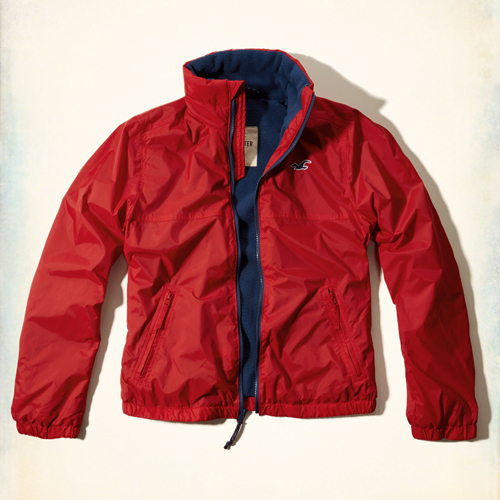 Куртка мужская Hollister Mission Beach Windbreaker (332-328-0283-050) Size L