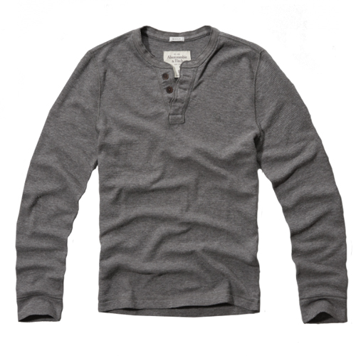 Свитер мужской Abercrombie & Fitch Schofield Cobby Waffle Henley (121-701-0262-012) Size L
