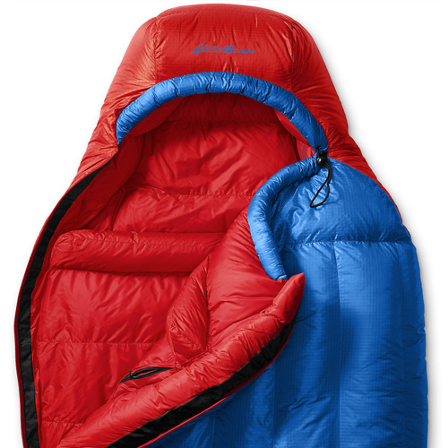 Спальный мешок Eddie Bauer 2219 Karakoram -7C Down Sleeping Bag Blue Regular