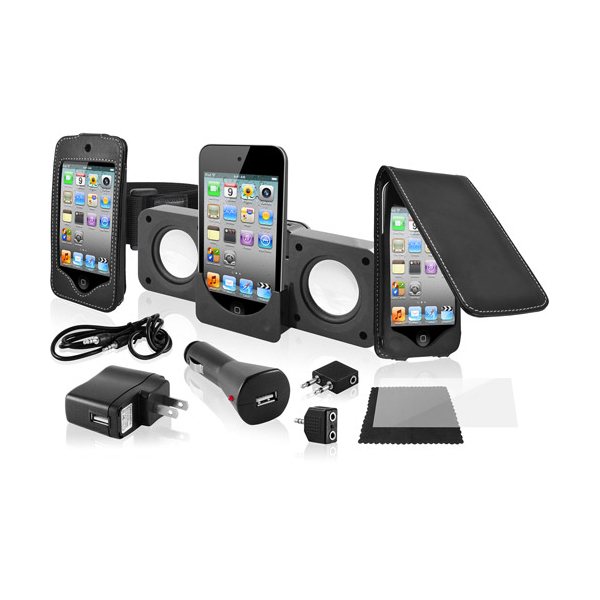 Набор Ematic 10-in-1 Premium Accessory Kit for iPod Touch 4th Generation EI029