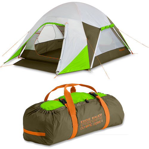 Палатка Eddie Bauer Olympic Dome 4-Person (Green)