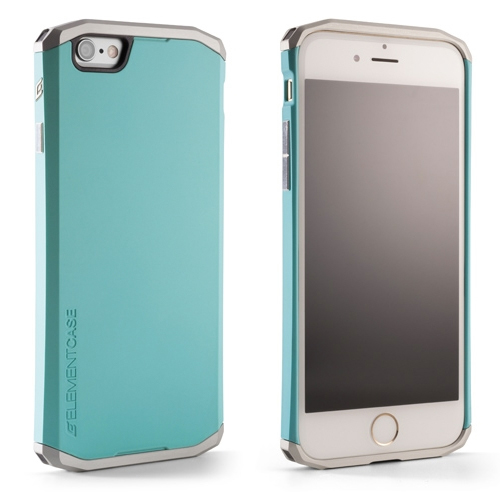 Чехол Element Case Solace for iPhone 6 (Turquoise/Silver)