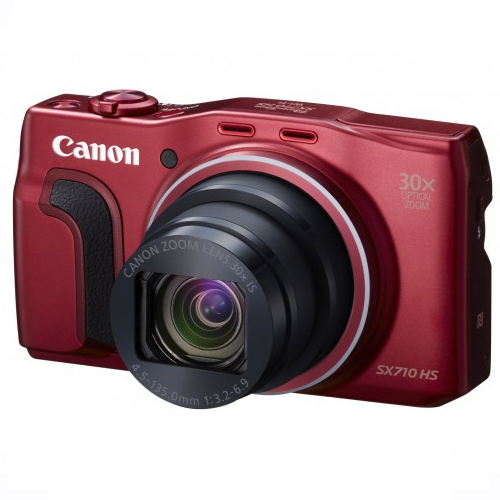 Фотоаппарат Canon PowerShot SX710 HS (Red)