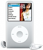 MP3-плеер Apple iPod classic 160GB, Silver MC293