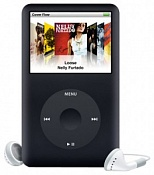 MP3-плеер Apple iPod classic 160GB, Black MC297