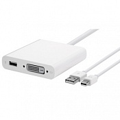 Переходник Mini DisplayPort на Dual-Link DVI Apple MB571