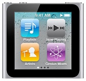 MP3-плеер Apple iPod Nano 6 8Gb Silver/Серебристый