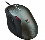 Мышь Logitech Gaming Mouse G500 Silver-Black USB
