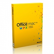 Microsoft Office MAC для дома и учебы 2011 Family pack