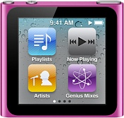 MP3-плеер Apple iPod Nano 6 16GB Pink/Розовый