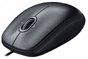 Мышь Logitech Mouse M100 Black USB