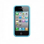 Apple iPhone 4S Bumper (Blue)